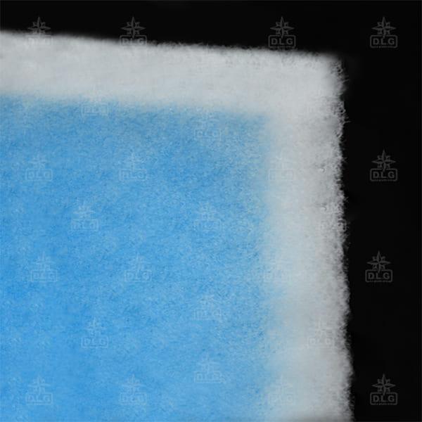filtro sintetico bianco azzurro 250gr