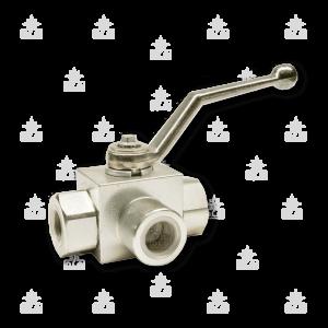 023125-023145 rubinetto alta pressione tre vie