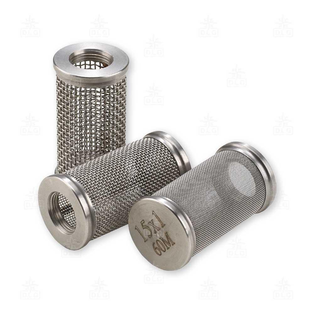 FM2741512 filtro aspirazione inox per tubo copia